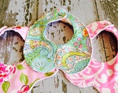 Ready to Ship- The Couture Mama Collar Bibs, Set of Three