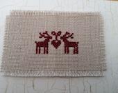 dollhouse miniature table cloth