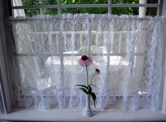 gardinen cafe vorh nge lace gardinen shabby chic. Black Bedroom Furniture Sets. Home Design Ideas