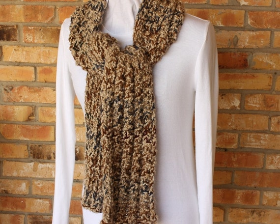 Knitting Pattern Easy to Knit Chunky Rib by KimberleesKorner