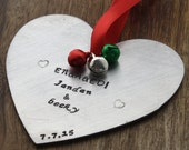 Engaged Ornament Personalized Engagement Ornament Newly Engaged Christmas Gift Engagement Gift Gifts For Engaged Couple