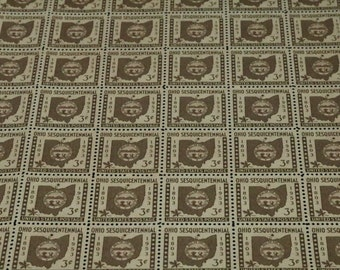 Sc. 1018 US Postage Stamp Ohio Statehood Vintage US Postage Stamps Sheet