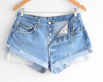 Where to buy levis high waisted denim shorts – Your new jeans ...