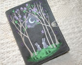 Bunnys in the Moon Light Kindle Cover