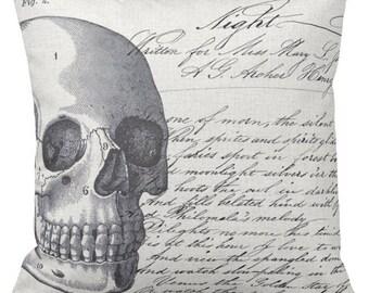 Halloween Pillow Cover Night Skull