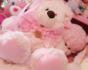 Dolly Teddy Bear Purse/Messenger Bag - Sweet Lolita Loli Hime Gyaru Princess Elegant Fairy Kei Decora Harajuku
