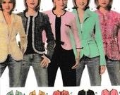 Simplicity 4635 blazer wrap Jacket Pattern
