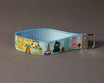 Little Wizard of Oz Wristlet Keychain