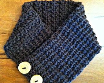 Chunky Neck Warmer - Scarf Crochet Pattern No.509 Digital Download PDF