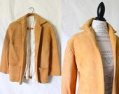 RESERVE c1970's Rustic Sheepskin Leather Jacket