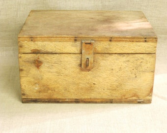 Wooden Box , Industrial Box , Instrument Box , Handmade , Rustic , Weathered , Storage , Organization , Art Supplies , Box , Boxes , Wood