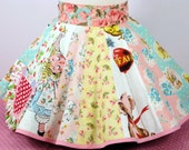 Retro Apron Shabby Chic Scrappy Handmade Apron Kawaii Cute and Sweet