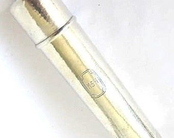 Antique Hand Hammered Style Sterling Silver TIFFANY Tooth Brushholder,4.62 toz