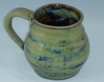 A Day at the Ocean - Large Mug with Floating Glaze