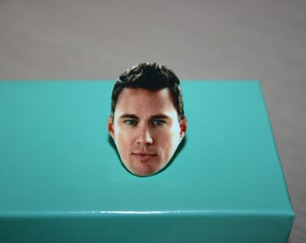 Channing Tatum Face Ring Celebrity Jewelry