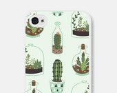 iPhone 5c Case - iPhone 6 Plus Case - Samsung Galaxy S5 Case - Samsung Galaxy S6 Case - iPhone 6 Case - iPhone 5s Case - Cactus Succulent