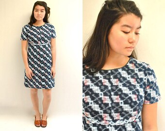 Japanese Cotton Dress  //  Indigo Cotton Dress  //  THE KASURI