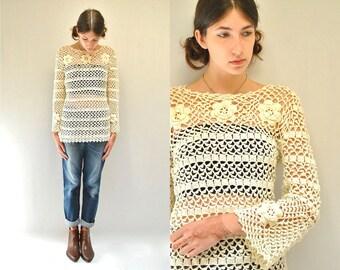 Crochet  Top  //  Crochet Sweater  //  THE ASHBURY