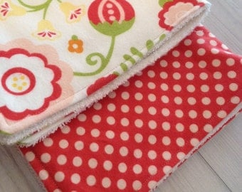 Baby Burp Cloths, Burp Cloths, Girl Burp Cloths, Baby Girl Burp Cloths, Burp Cloth, Pink Burp Cloths, Expecting Mom Gift, Baby Gift, Flannel