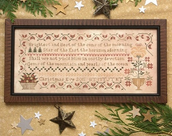 Morning Star : Cross Stitch Pattern by Heartstring Samplery