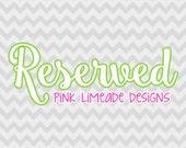 Reserved for L.S.