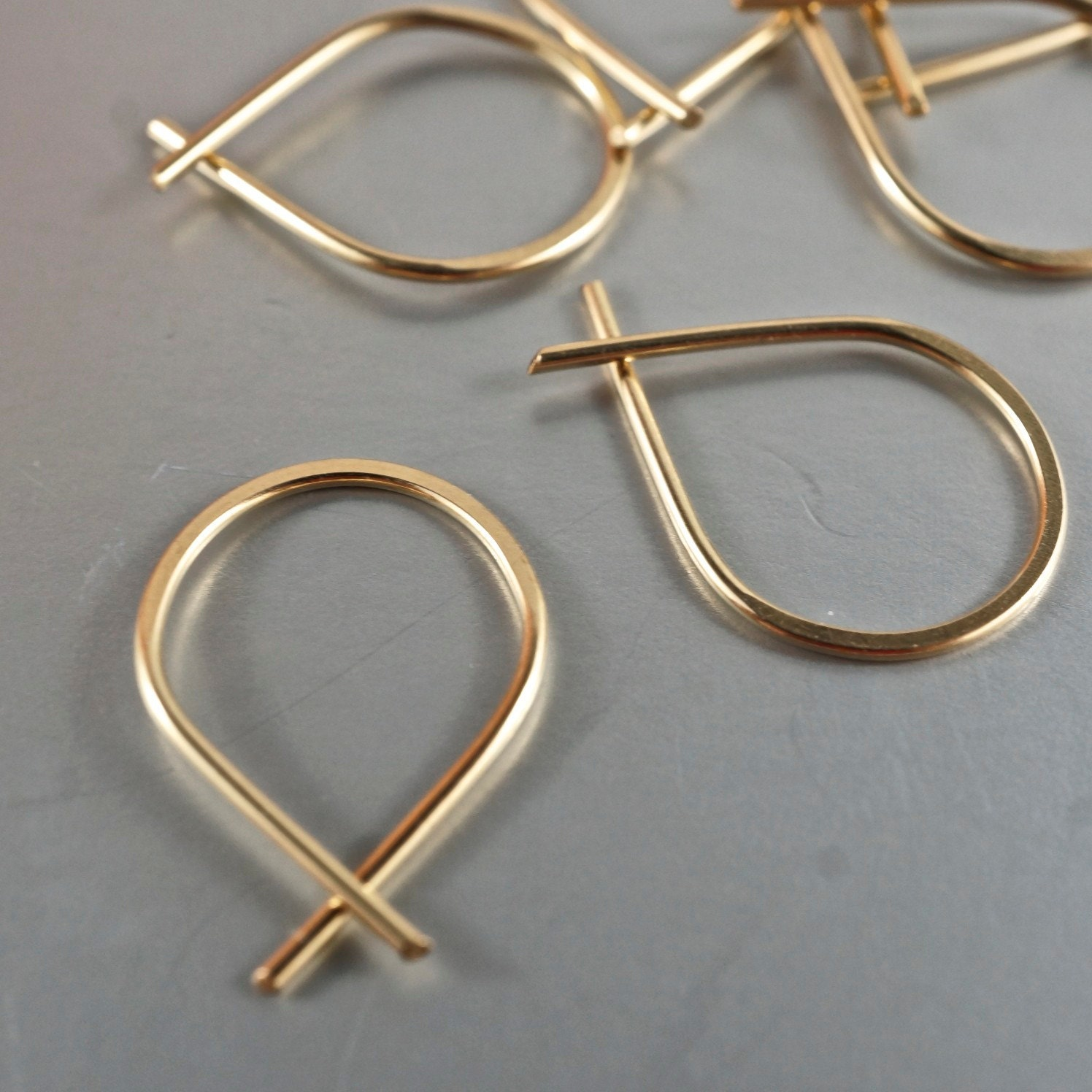 Tiny Hoop Earrings Sleepers Extra Small Earrings Tiny
