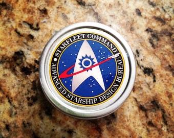 Star trek starfleet academy 1 oz silver tin pillbox