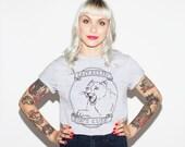Catcallin' Ain't Cute! Lion Feminist Animal T-shirt