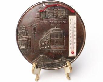 Thermometer California Souvenir Indoor Temperature Indicator