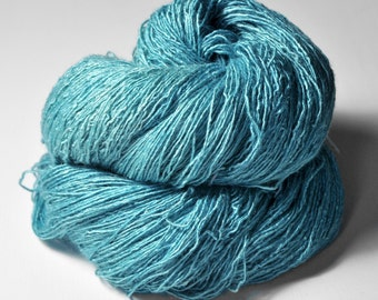 Water spirit  - Tussah Silk Fingering Yarn
