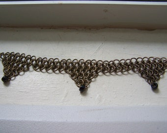 CLEARANCE Chain Maille Dancing Gypsy Boho Bracelet Anklet