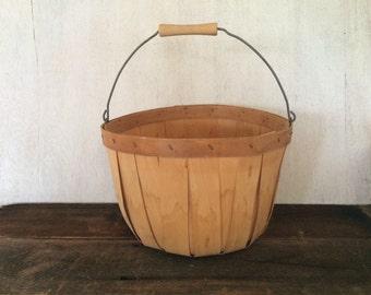 Vintage Apple Basket