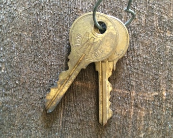 Vintage Keys, Set of 2