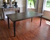 Modern Rustic Wood Table, Reclaimed Wood, Douglas Fir, Free Shipping