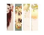 Flora and Fauna Bookmark Set Printable and DIY