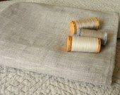 Pure LINEN natural OATMEAL eco friendly European fabric sewing crafts home decor from Mygypsycottage on Etsy