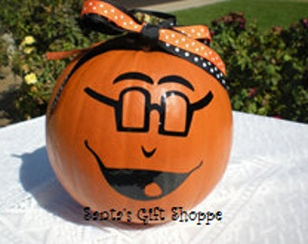 Halloween Pumpkin Face Vinyl Decal - Home Decor - Halloween - Children