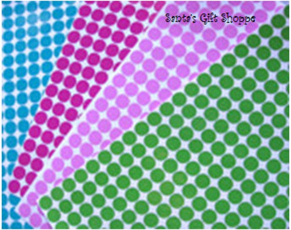 "70 Vinyl Decal 1/2"" Polka Dot Gloss Sticker Sheet  - 70 Polka Dots - Bachelorette Party - Christmas - Graduation Party - Scrapbooking"