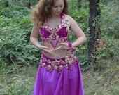 "Belly dance costume belly dance outfit ""Purple Dreams"" SALE SALE SALE"