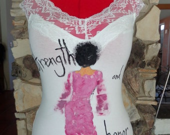 Hand Painted Top for Women