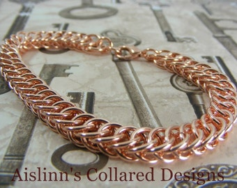 Copper Half Persian Bracelet