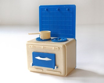 Vintage Dollhouse Play Stove