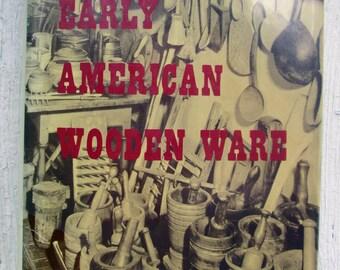 Earl American Wooden Ware Vintage Book