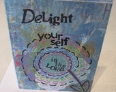Delight Yourself in the Lord (Christian card)