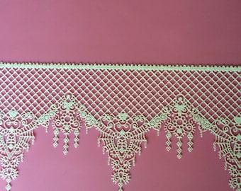 Delicate Edible Lace - Sugar Lace - Cake Lace Vintage Ophelia Design