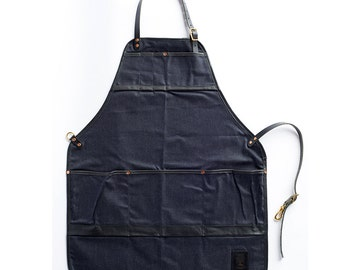The Craftsman's Apron - Waxed Denim