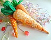 Carrot Basket or Bowl Filler (set of 3)