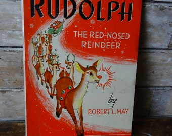 Vintage Rudolph The Red Nose Reindeer