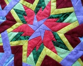 Quilted Table Topper Table Runner Candle Mat