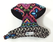 Multicolor Comfort Soft Dog Harness - Made to Order -